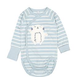 Babies Cat Applique Bodysuit