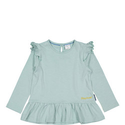 Baby Girls Cotton Top with Frills