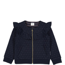 Girl Quilted Zipped Jacket