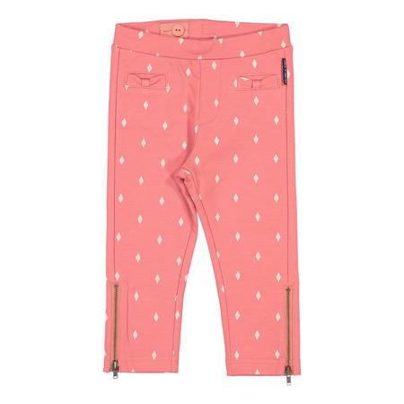 Girls Slim Printed Track Pants