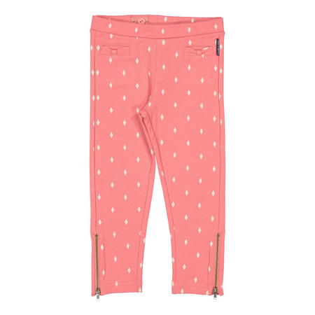 Girls Slim Printed Track Pants