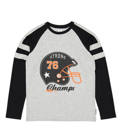 Boys Cotton Long Sleeved Top