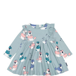 Baby Girls Poodle Print Dress