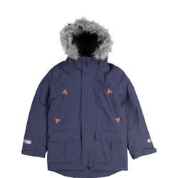 Kids Waterproof Parka Coat