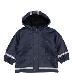 Babies Waterproof Coat, Fleece Lining