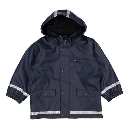 Kids Waterproof Coat with Fleece Lining