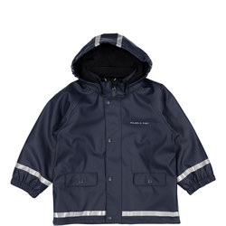 Kids Waterproof Coat with Fleece Lining
