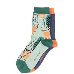 Boys 2 Pack Socks
