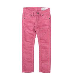 Girls Velvet Trousers