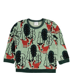 Babies Velour Mountain Goat Top