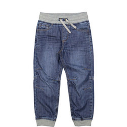Kids Lined Pull-on Jeans