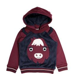 Kids Nordic Animal Hoodie