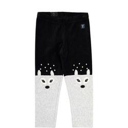 Girls Velour Trousers