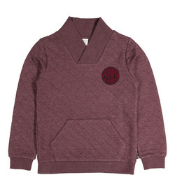 Boys Quilted Sweater