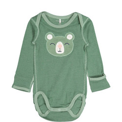 Babies Bear Applique Bodysuit