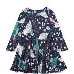 Girls Nordic Fairy-tale Dress