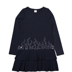 Girls Sequined Dress