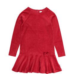 Girls Velour Dress