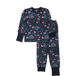 Girls Floral Pyjamas