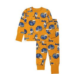 Kids Sleepy Dragon Pyjamas