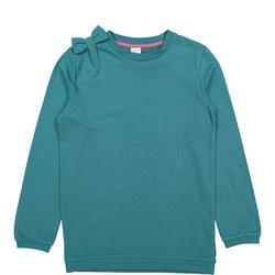 Girls Sweatshirt With Bow