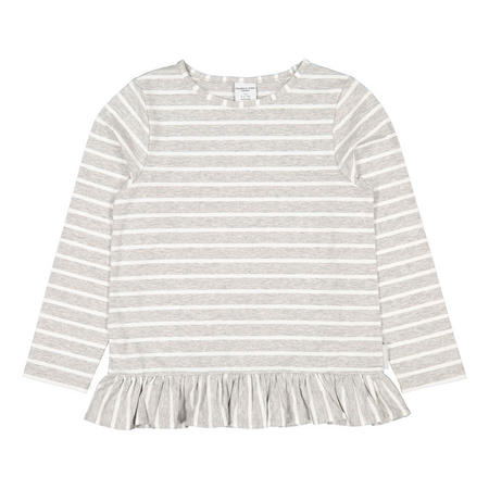 Frilled Stripe Top