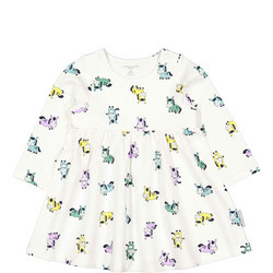 Pony Print Dress