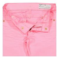 Slim Fit Pink Jeans