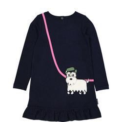 Scotty Dog Pocket Dress