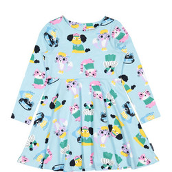 Girls Cats and Dogs Dress