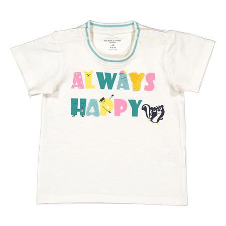 Kids Happy Applique T-Shirt