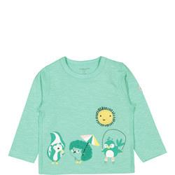 Kids Sunshine Animal Top
