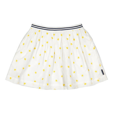 Girls Embroidered Summer Skirt