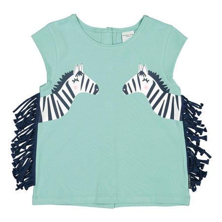 Girls Zebra Top