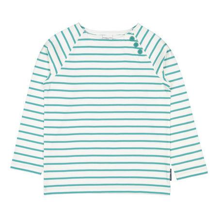 Kids Striped  Breton Top