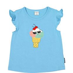 Girls Ice Cream Motif Vest Top