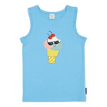 Girls Ice Cream Vest Top
