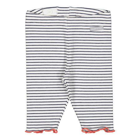 Baby Girls Striped Leggings