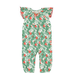 Baby Girls Floral Playsuit