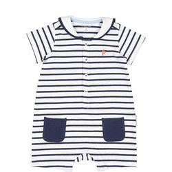 Baby Boys Sailor Romper