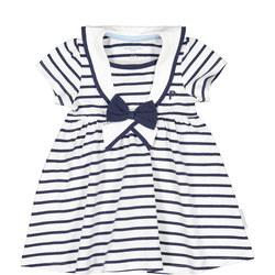 Baby Girls Striped Sailor Dress