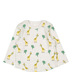 Babies Giraffe Print Top
