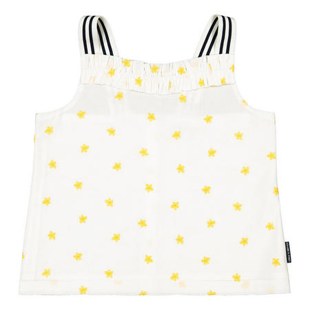 Girls Embroidered Summer Top