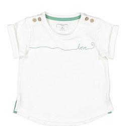 Babies Embroidered Love T-Shirt