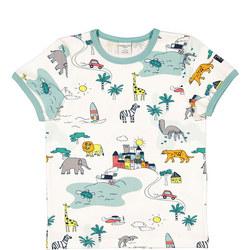 Kids Safari Print T-Shirt