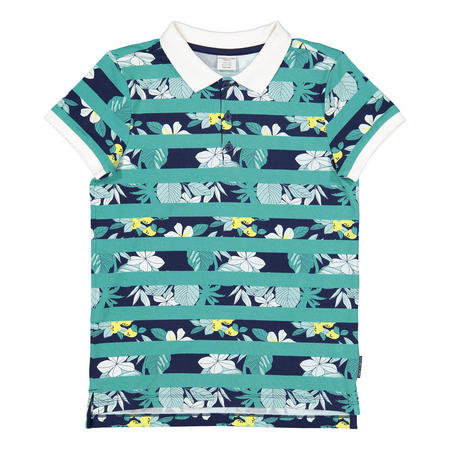Boys Hawaiian Polo Shirt