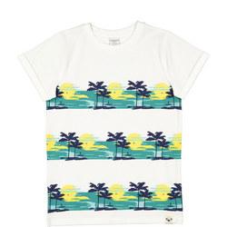 Kids Palm Tree Print T-Shirt