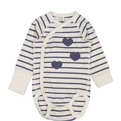 GOTS Baby Wraparound Bodysuit