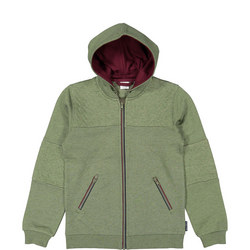 Kids Organic Cotton Hooded Jacket