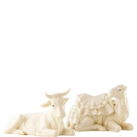 Living Manger Set Ox & Camel